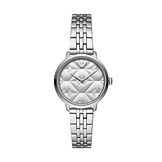 Emporio Armani Reloj Analógico para Mujer de Cuarzo con Correa en Acero Inoxidable AR11213