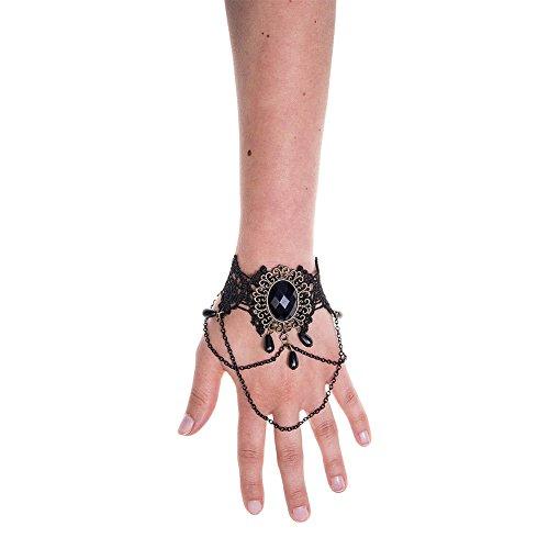 Fascia per braccio lace stone (nero) - taglia unica