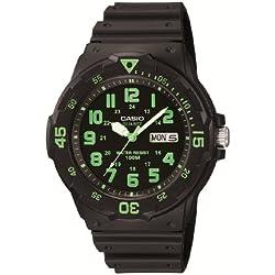 Casio Collection Reloj Analógico de Cuarzo para Hombre con Correa de Resina – MRW-200H-3BVEF