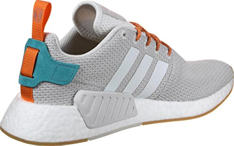 Adidas NMD R2 Summer Crystal White Grey Gum
