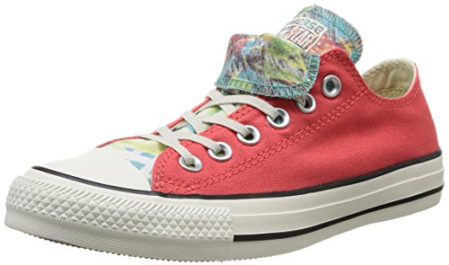 Converse, All Star Ox Dbl Tongue Graphic, Sneaker, Donna Blush/Oasis