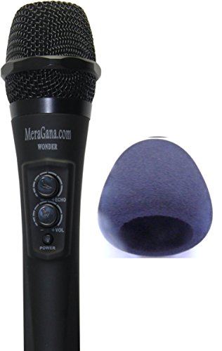 MeraGana Wonder Digital Karaoke (Sing along) Mixer Microphone with inbuilt Digital mixer, Echo controller and Volume control for Vocals