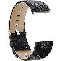 Correa de pulsera Correa de cuero genuino para Fitbit Charge 2 Banda de reemplazo para Fitbit Charge 2 Pulsera de ritmo cardíaco