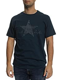 Converse T-Shirt Men WASHED REFLECTIVE 10001078 Dunkelblau 486