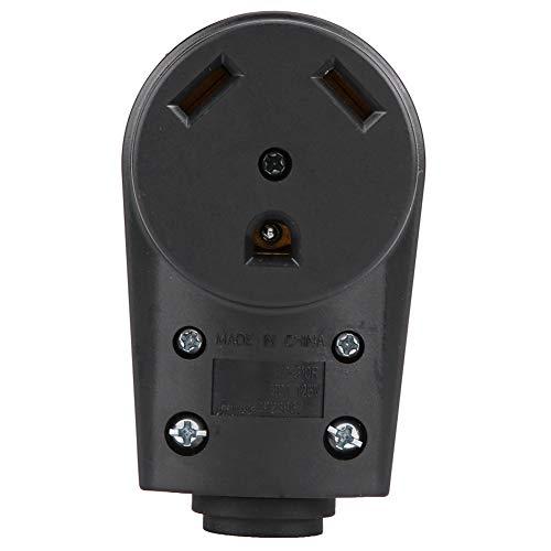 RV 30 AMP Steckdose 125V 30A RV Elektrischer Buchsenstecker Adapter Ersatzstecker mit Easy Grip Griff 30a Steckdose