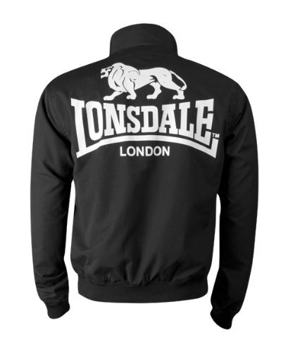 Lonsdale Harrington Jacket Acton black Schwarz