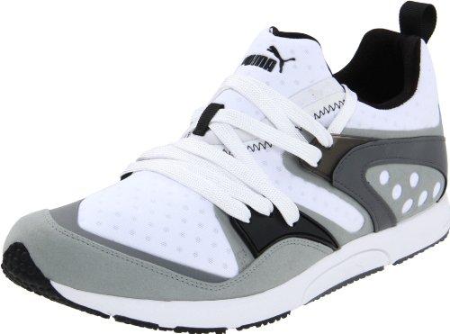 Puma Blaze Of Glory LTWT Synthétique Baskets Limestone Gray-White-SG