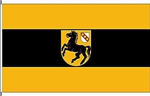 Kleinfahne Wanne-Eickel - 20 x 30cm - Flagge und Fahne
