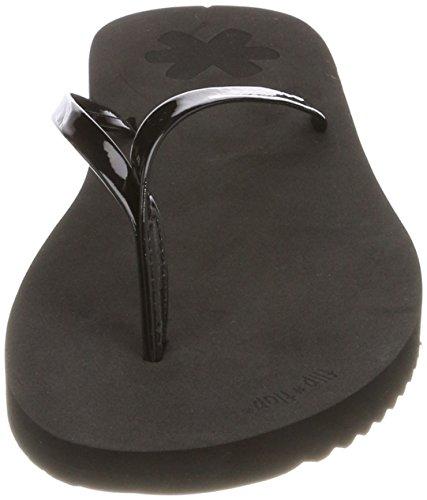 flip*flop Damen Flipnoble Zehentrenner Schwarz (Black)