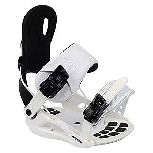 Airtracks Snowboard Softbindung Star W/Snowboard Bindung Größen S M L