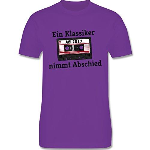 Abi & Abschluss - Abi 2017 Ein Klassiker nimmt Abschied - Herren Premium T-Shirt Lila