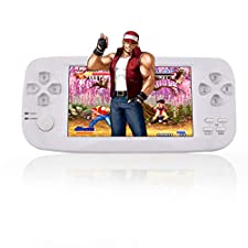 """AOLVO Handheld Game Console, Retro Game Console 4.3"""" 16 GB 3000 Classic Games Player, Portable Video Game Console Support GBA/NES/SFC / /NEOGEO/CP1/CP2 And More Birthday Presents for Children"""