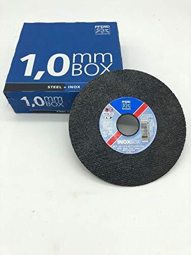 PFERD Trennscheiben Inox 125x1,0mm A60P Inoxbox für Edelstahl VA -25 Stück-