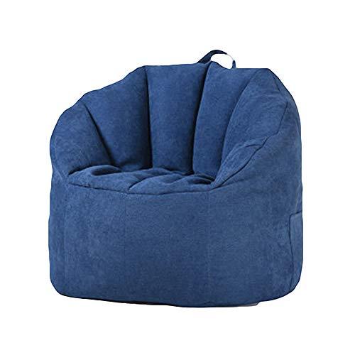 GQJQWE Sitzsack Lazy Sofa Tragbar Abnehmbar Und Waschbar Einfach Tatami Atmungsaktives Gewebe Ohne Knochen Design Lazy Couch Knochen-gewebe