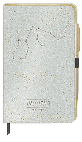 Notizbuch - Wassermann