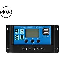 Vvciic LCD Display Controlador de Carga de la Baterãa Regulador Solar Panel