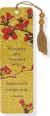 Japonica Beaded Bookmark