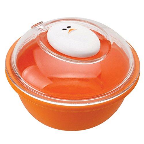 Joie 50945 - Escalfador de huevos microondas, color amarillo y blanco