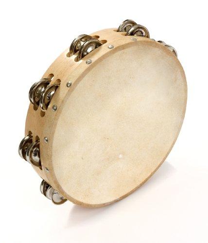 Percussion Plus - Pandereta (25,4 cm/10 pulgadas)
