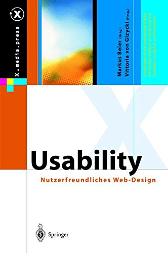 Usability: Nutzerfreundliches Web-Design (X.media.press)