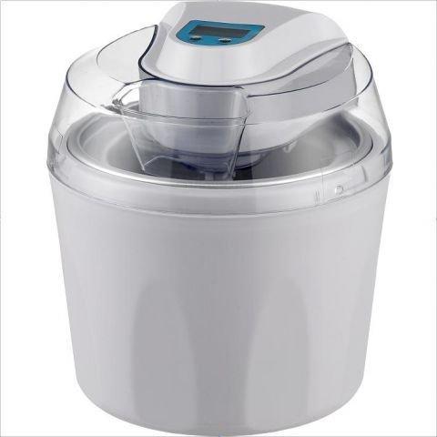 4in1 Eismaschine, Frozen Jogurt-Milchshake Maschine Flaschenkühler Gino Gelati ICD-30W -