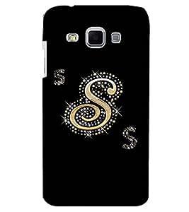 Printvisa Premium Back Cover Decorated S Alphabet Design For Samsung Galaxy J3::Samsung Galaxy J3 J300F