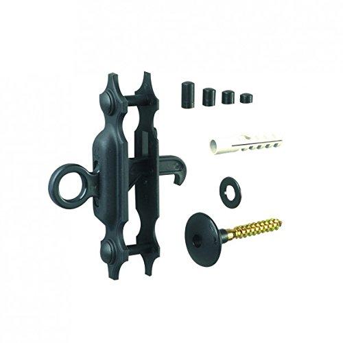 Arrêt à paillette composite - Noir, 24 à 36 mm