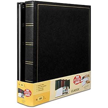 3/pi/èces. Capestore 3/albums photos New Style de tr/ès bonne facture en cuir synth/étique pour 900/photos /Conf 300/photos CAD. /À pochettes 10/x 15/Memo/