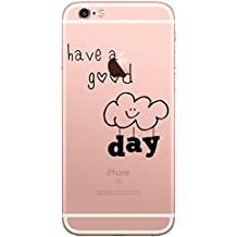 Qissy® iPhone 6S Plus Carcasa,iPhone 6 Plus Case, Soft Gel TPU Silicone Case Cover with Cute Cartoon Pattern for 5.5 inch iPhone 6 Plus / 6S Plus