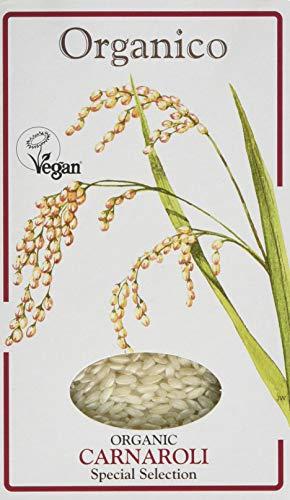 Organico Carnaroli Organic Risotto Rice 500 g (Pack of 3)