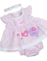 2c5daa32dc8ca Babyprem Baby Dress Knickers Headband Set Bird Clothes Newborn - 6 Months