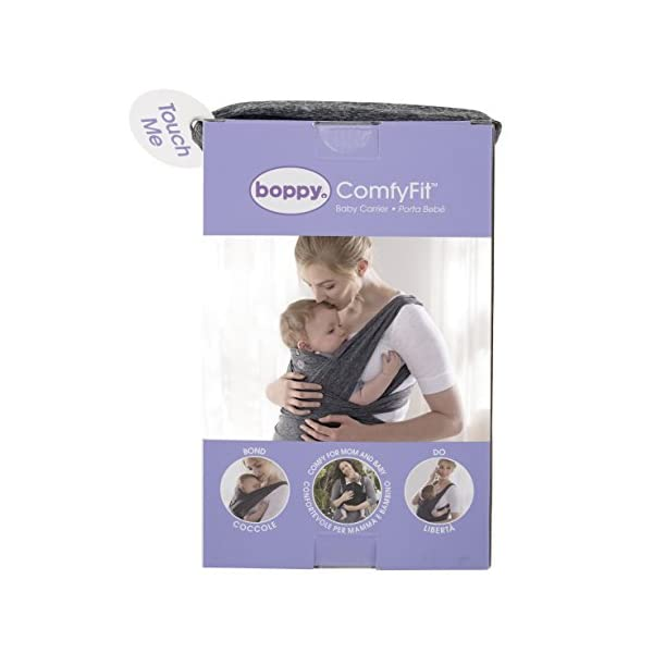 Chicco ComfyFit Baby Carrier One size Chicco Perfect fit, no infant insert required; recommended baby weight: 8-35lbs One size fits most, which makes sharing your carrier between caregivers quick and easy 2 comfy carrying positions: front face-in and front face-out 4