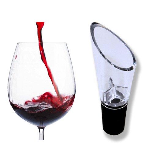 PULOX Wein Dekantierungsausgießer - Wein Belüfter / Dekanter / Dekantierer - für mehr Weingenuss