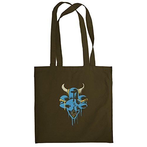 Texlab–For SHOV ELRY–sacchetto di stoffa Marrone
