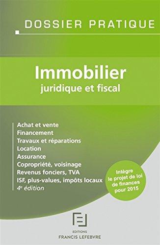 Immobilier: Juridique et fiscal