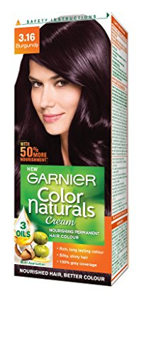 Garnier Color Naturals Shade 3.16 Burgundy, 70ml + 40g
