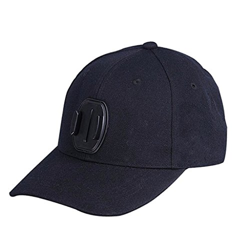 Baseball Cap Cappello Con Fibbia Supporto Per GoPro Hero 2/3 + / 4 Motion Camera - Baseball Angolo