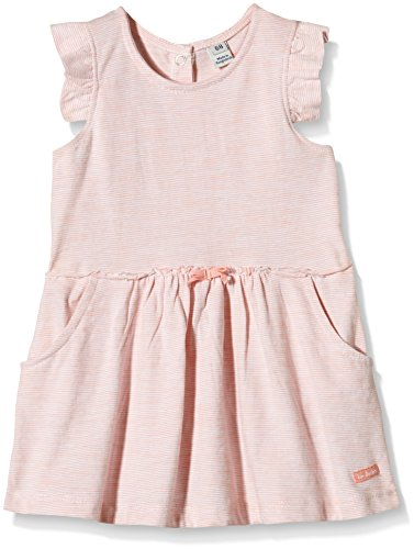 tom-tailor-kids-baby-girls-feeder-stripe-ruffled-dress-orange-orange-coral-punch-3449-9-12-months