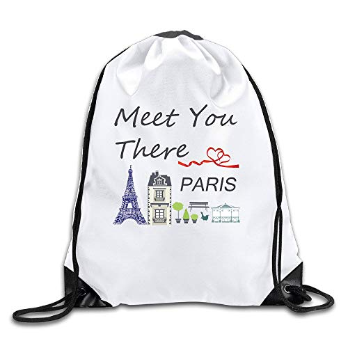 HLKPE Flower Camp Go Logo Unisex Fasion Drawstring Shoulder Backpacksluggage Bags Casual Travel Bags Shoulder Pouch Beam Port Backpack Tote Canvas Bag Storage Bag One Sized White