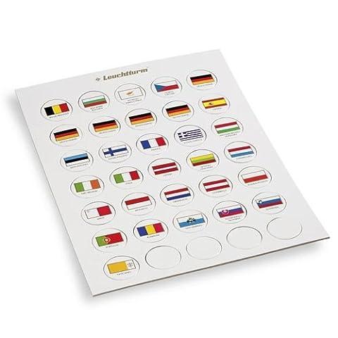 Piece 2 Euros Vatican - Leuchtturm Jeton de drapeaux appropriés pour 2-Euro