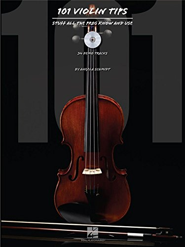 101 Violin Tips: Stuff All The Pros Know And Use. Partitions, Livre, CD pour Violon