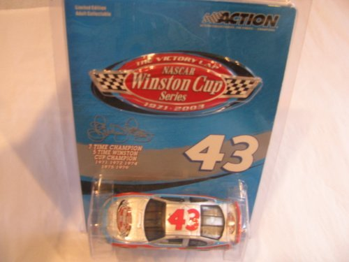 Richard Petty #43 2003 Dodge Intrepid Winston Cup 7X Seven Time Champion The Victory Lap 1/64 Scale Action Racing Collectables...2003 was the Last Year Winston Sponsored the Cup Series by Action Racing Collectables