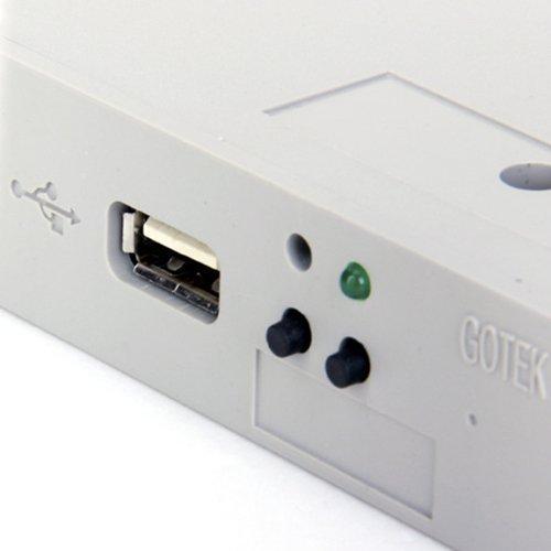TOOGOO(R)3.5 USB Diskettenlaufwerk SSD Emulator - 3