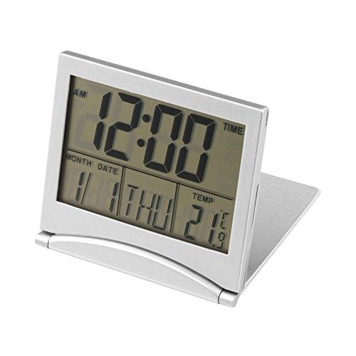 Hrph Neue Digital LCD Wetterstation Falten Schreibtisch Temperatur Reise Wecker