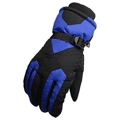 équitation Gants homme/Chaude matelassée imperméable à l'eau et polaire blouson/ gants de ski en plein air A