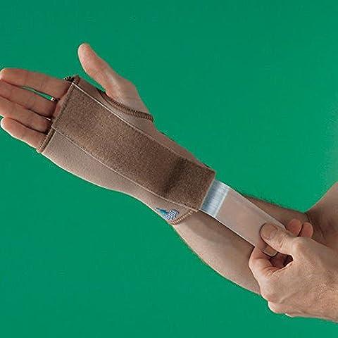 SDA supporto per il polso in neoprene con stecca in metallo by Oppo, Sindrome Del (Stecca Di Sostegno Del Gancio)