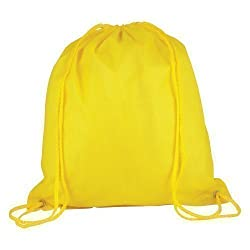 10 x Nylon Drawstring Rucksack Bags – Childrens School Gym / Book ...
