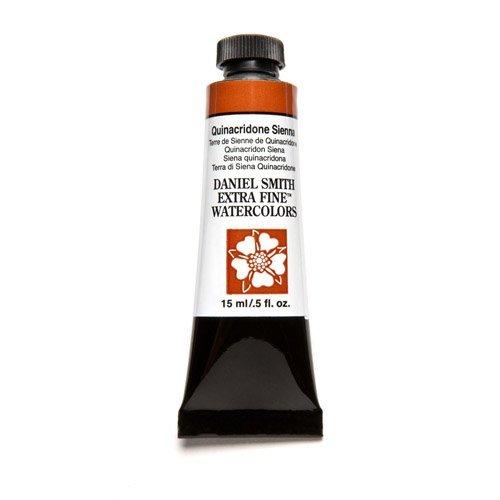 Sienna 15 Ml-tube (Quinacridone Sienna Series 2, 15ml Tube Daniel Smith Extra Fine Watercolour by Daniel Smith)