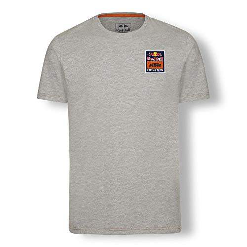 Red Bull KTM Mosaic T-Shirt, Gris Herren Large T-Shirt, KTM Factory Racing Original Bekleidung & Merchandise Cotton Racing Jacket