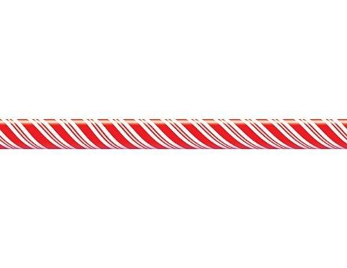 White Border Trim (Teacher Created Resources Candy Cane Straight Border Trim, Red/White (4667) by Teacher Created Resources)